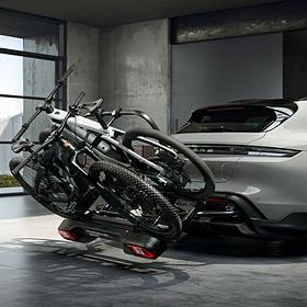 Porsche Fietsendrager voor op trekhaak Taycan Cross Turismo