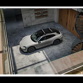 Porsche Basisdrager daktransportsysteem voor Taycan CrossTurismo
