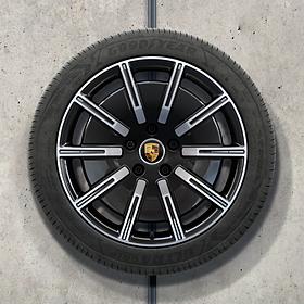 Porsche 20 inch Sport Aero complete winterset voor Taycan