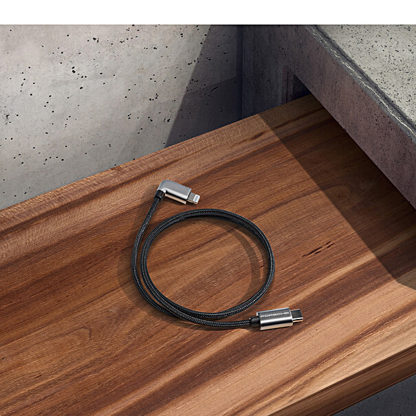 Porsche USB-Smartphone kabel (Apple Lightning)