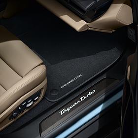 Porsche Matset velours - Taycan