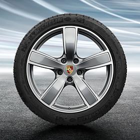 Porsche 20 inch Cayenne Sportclassic complete winterset voor Cayenne (E3)