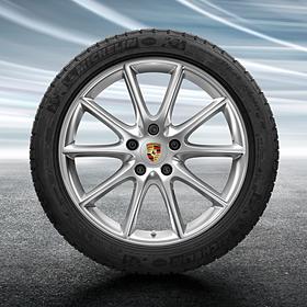 Porsche 20 inch Cayenne Design complete winterset voor Cayenne (E3)