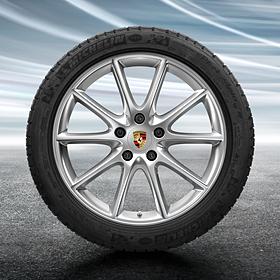 Porsche 20 inch Cayenne Design complete winterset voor Cayenne