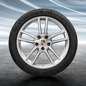Porsche 20 inch Cayenne Sport complete winterset voor Cayenne
