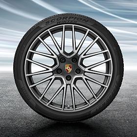 Porsche 21 inch Cayenne RS Spyder complete winterset voor Cayenne