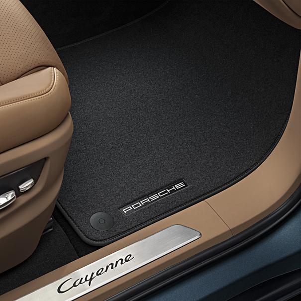 Porsche Velours vloermattenset Cayenne (E3), 4-delig