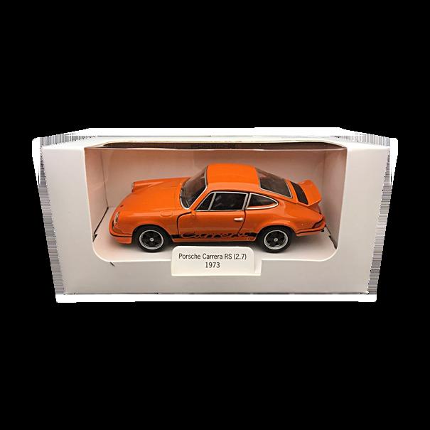 Porsche 911 RS 2.7, DieCast, Pullback, 1:38