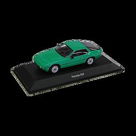 Porsche 924 groen 1:43 Spark