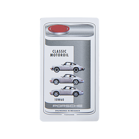 Sticker Porsche Classic Motor Oil 10W60