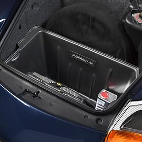 Kunststof bagagekuip in zwart - Porsche 996 en 986