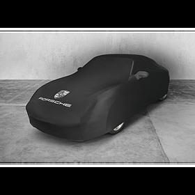 Indoor autohoes voor Porsche 996 zwart