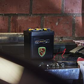 Porsche acculader - 6 en 12 V