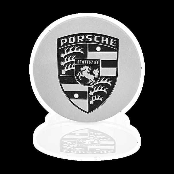 Naafdop zilver metallic - Porsche 911, 924, 944, 928 en 964