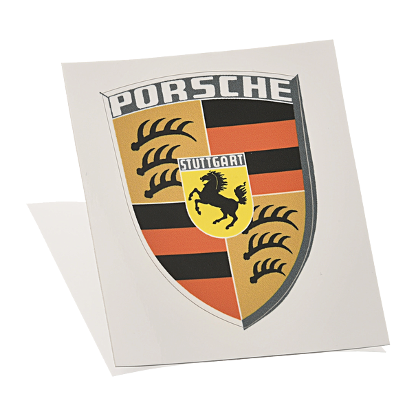 Porsche Wapensticker RS