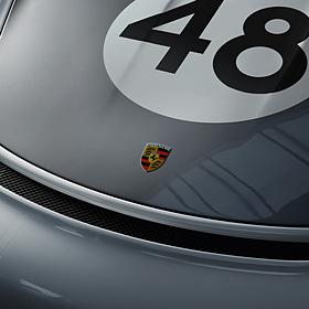 Porsche Wapensticker RS