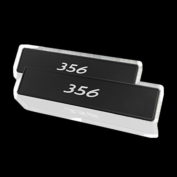 """Porsche Kentekenplaat, """"356"""""""