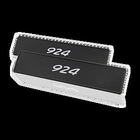 """Porsche Kentekenplaat, """"924"""""""