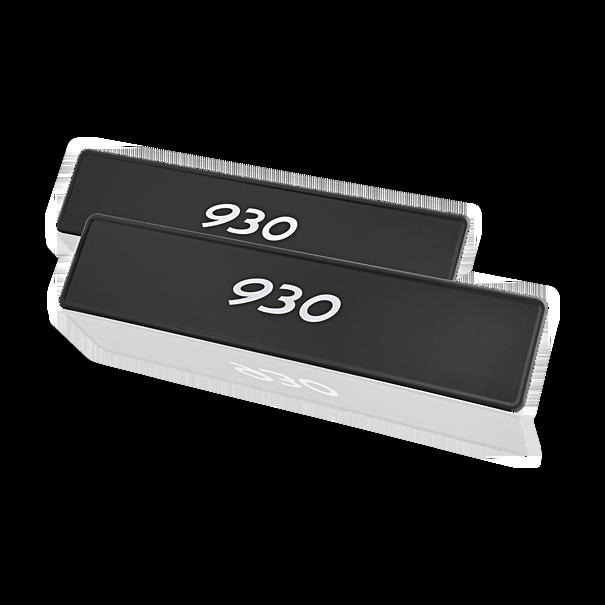 """Porsche Kentekenplaat, """"930"""""""