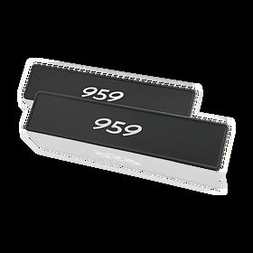 """Porsche Kentekenplaat, """"959"""""""