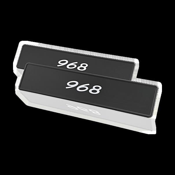 """Porsche Kentekenplaat, """"968"""""""