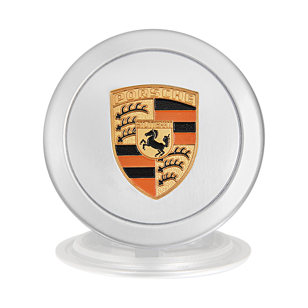 Naafdop 66 mm, zilver - Porsche 911 en 914-6