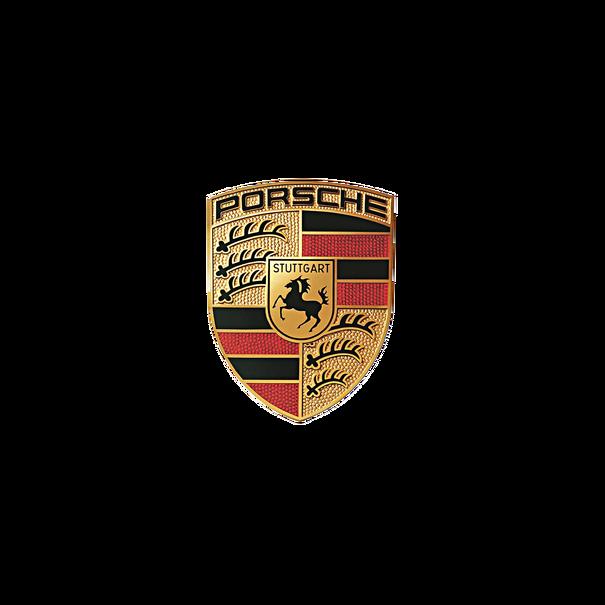 Sticker - Porsche embleem - 54,5 x 66,7 mm