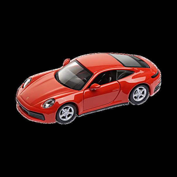 Porsche 911 Carrera 4S Coupé, DieCast, Pullback, 1:43