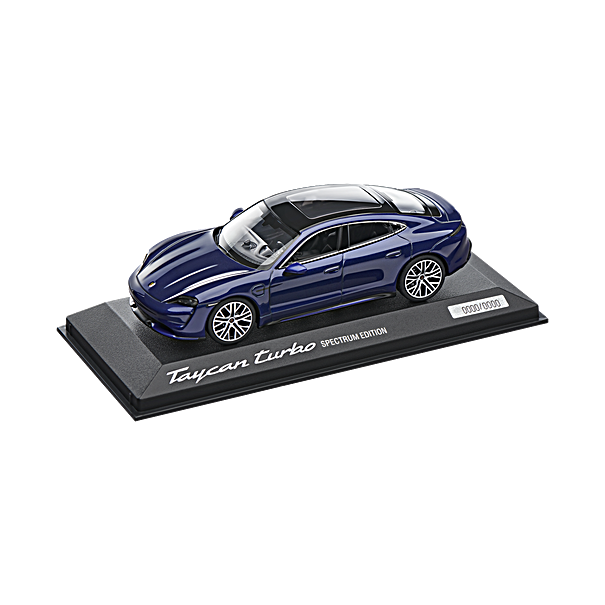 Porsche Taycan Turbo, Limited Calendar Edition 2020, 1:43