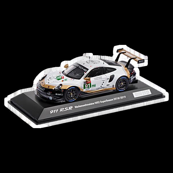 Porsche 911 RSR Markenweltmeister WEC 2018/2019 (991.2), Limited Edition, 1:43