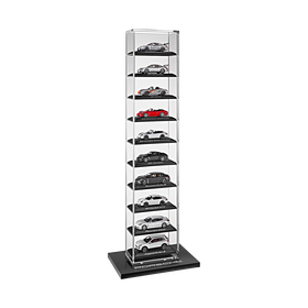 Porsche Vitrine voor 1:43 modelauto's