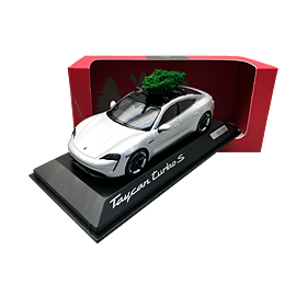 Porsche Taycan Turbo S Christmas Special, Limited Edition, 1:43