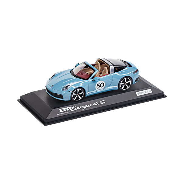 Porsche 911 Targa 4S Heritage Design Edition (992), Limited Edition, 1:43