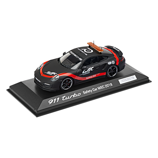 Porsche 911 Turbo Safety Car WEC 2018 (991.2), Limited Edition, 1:43