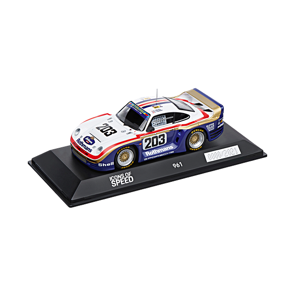 Porsche 961, Icons Of Speed Limited Calendar Edition, 1:43