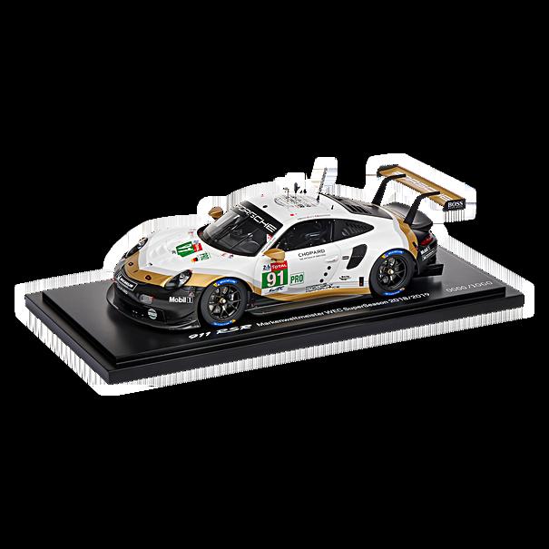 Porsche 911 RSR Markenweltmeister WEC 2018/2019 (991.2), Limited Edition, 1:18