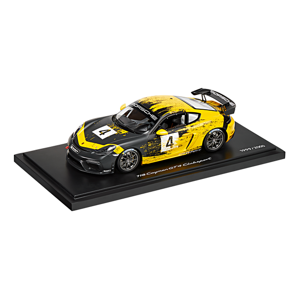 Porsche 718 Cayman GT4 Clubsport (982), 1:18