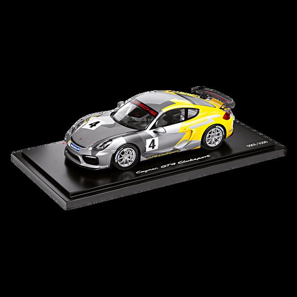 Porsche Cayman GT4 Clubsport, 1:18
