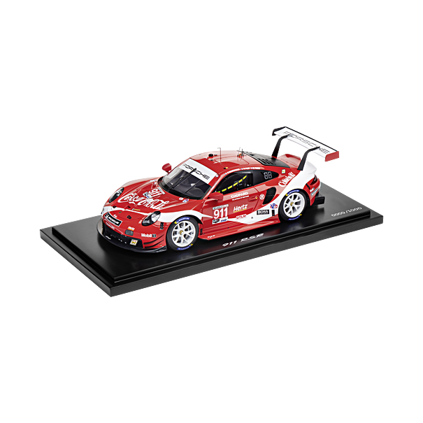 Porsche 911 RSR Coca Cola 2019 (991.2), Limited Edition, 1:18