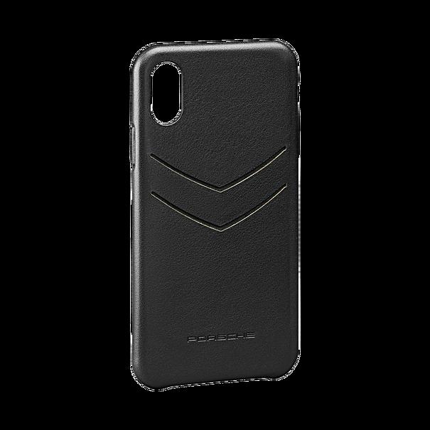Porsche Leren iPhone XS case