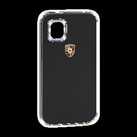 Porsche Snap On Case Leder iPhone 12 Pro