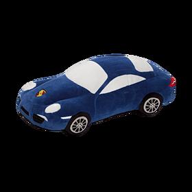 Porsche Knuffelauto 911 blauw