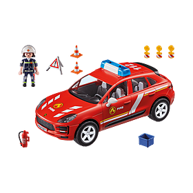 Porsche Playmobil Macan S Brandweerauto