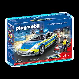 Porsche Playmobil 911 Carrera 4S Politieauto
