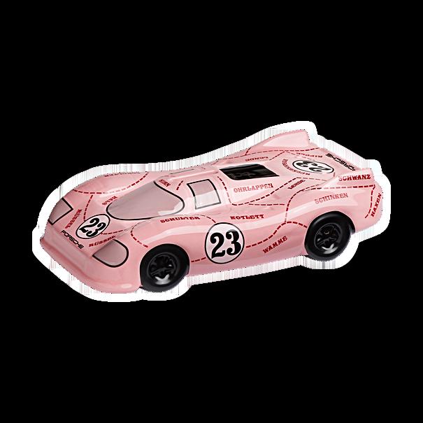 """Porsche 917 """"Pink Pig"""" spaarpot"""