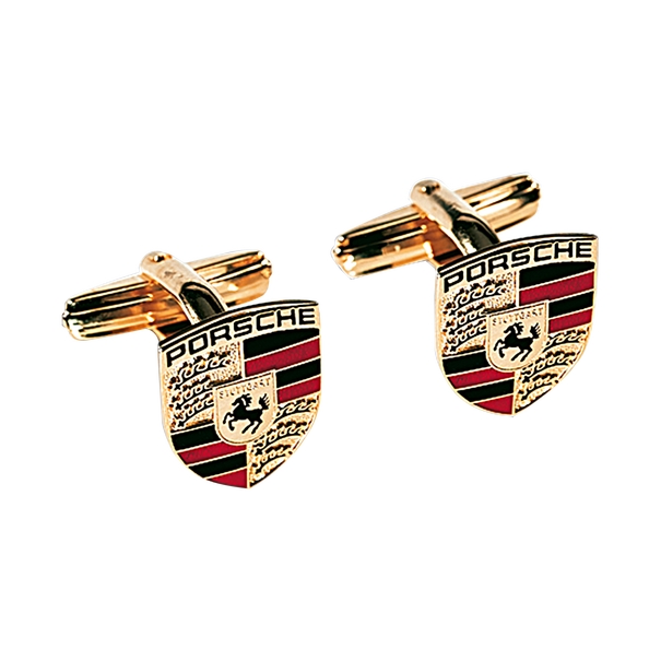 Manchetknopen - Porsche embleem