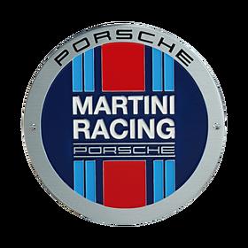 Porsche Grillbadge - MARTINI RACING