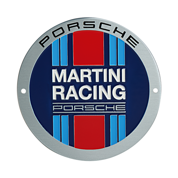 Porsche Grillbadge - MARTINI RACING