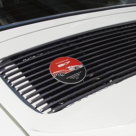 Porsche Grillbadge, Limited Edition, Salzburg collectie