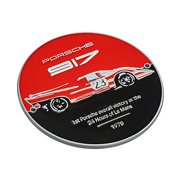 Porsche Grillbadge, Limited Edition, Salzburg collectie